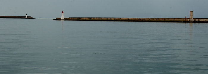 Fanali moli porto di Cagliari